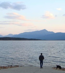 Hope Pass and Elbert from Tabor at Turquoise Lake - The Eve of Leadville