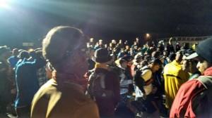The Start - a 4 AM crowd